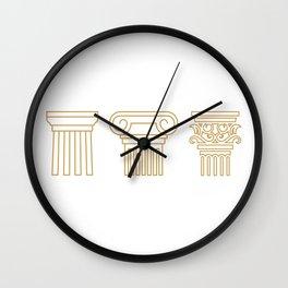 Orders Wall Clock