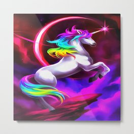 Unicorn Dream Metal Print