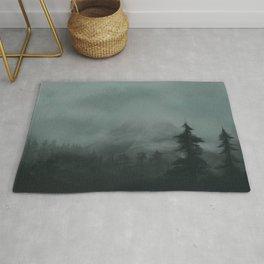 The Mist Shrouded Peak Rug