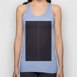 Road Two lanes Unisex Tank Top