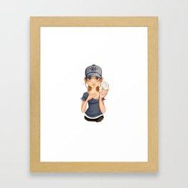 ny fan Framed Art Print