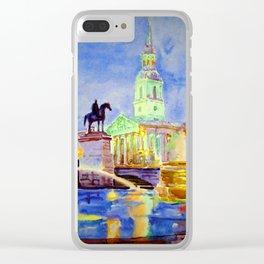 Trafalgar Square Clear iPhone Case