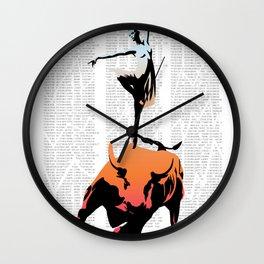 bullerina Wall Clock