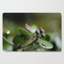 Blueberries Cutting Board