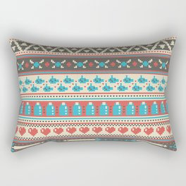 Fair-Hyle Knit Rectangular Pillow