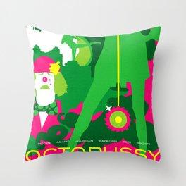 James Bond Golden Era Series :: Octopussy Throw Pillow