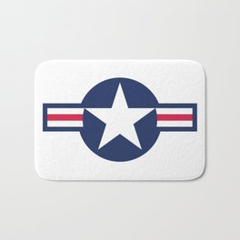 US Air force insignia HD image Bath Mat