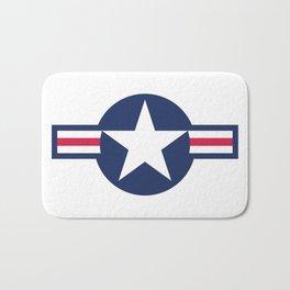 US Air force insignia HD image Bath Mat