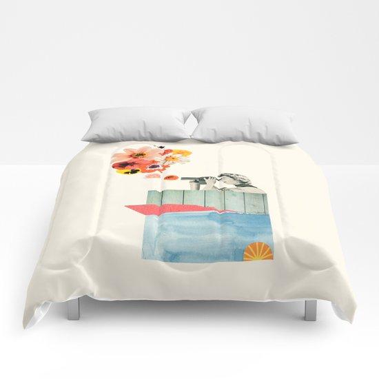 in bloom Comforters