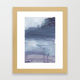 Number 80 Abstract Sky Framed Art Print