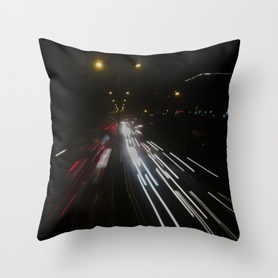 Fast Life Throw Pillow