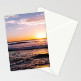Sunset Surfers V Stationery Cards