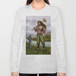Celtic Warior Long Sleeve T-shirt