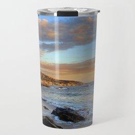 Laguna Beach: Rockpile Beach Travel Mug