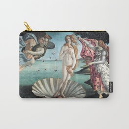 The Birth of Venus, Sandro Botticelli Carry-All Pouch