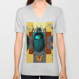 BUGGY INSECT LOVERS ART Unisex V-Neck