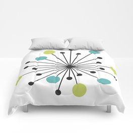 Atomic Age Nuclear Motif — Mid Century Modern Comforters