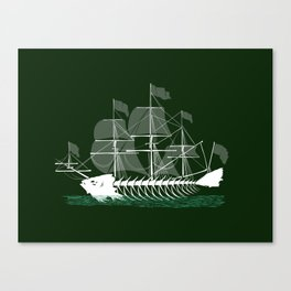 Cutter Fish Canvas Print