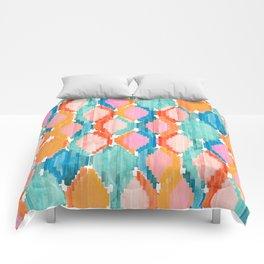 marmalade balinese ikat Comforters