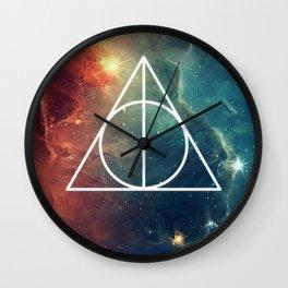 Deathly Hallows Nebula HP Wall Clock