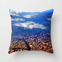 Sky Pebbles Throw Pillow