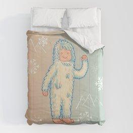 Yeti - Cute Cryptid Comforters