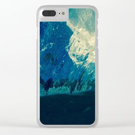 Sky fallin in Love Clear iPhone Case