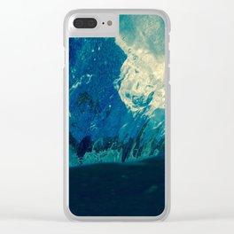 Sky fallin in Love Clear iPhone Case