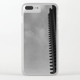 Brutality Clear iPhone Case