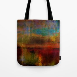 The return of the gondolier Tote Bag