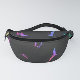 The magnificent frigatebirds *L* by #Bizzartino Fanny Pack