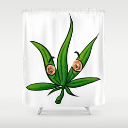 I know that look Shower Curtain