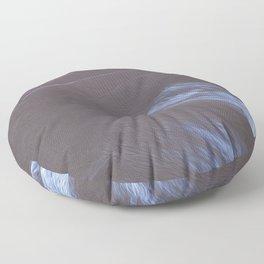 Blue Grey Mountains 2 Floor Pillow