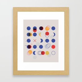Fast Moving Parts Framed Art Print