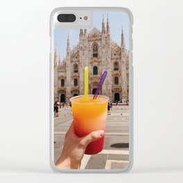 Duomo Refreshments Clear iPhone Case