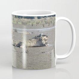 Log in dry marsh Coffee Mug