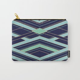 Art Deco Even Faster Carry-All Pouch