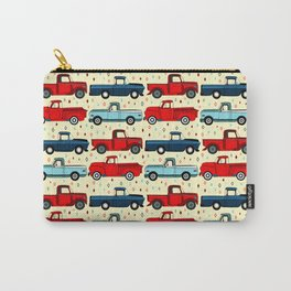 Winter Vintage Trucks Carry-All Pouch