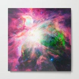 Orion NebuLA Colorful Purple Metal Print