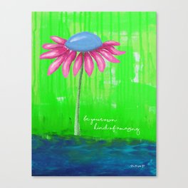 """""""Be Your Own Kind of Amazing"""" Original design by PhillipaheART Canvas Print"""