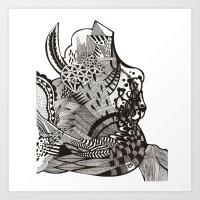 abstract vol 1 Art Print
