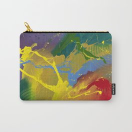 Uprising - abstract painting by Rasko Carry-All Pouch