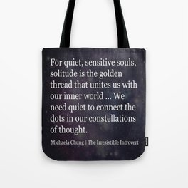 Quote 2 Tote Bag