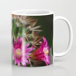 Pink purple flower Mammillaria Coffee Mug