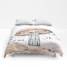Mushroom Carousel Comforters