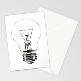 I Have an Idea!  Let there be light... Stationery Cards