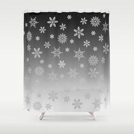Snow Flurries Shower Curtain