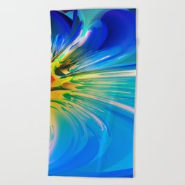 Abstract Composition 115 Beach Towel