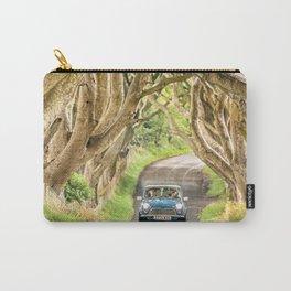 Mini Dash,Dark Hedges,Ireland,Northern Ireland,Landscape Carry-All Pouch