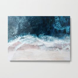 Blue Sea II Metal Print
